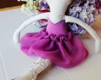 Ballerina Stuffed Doll PATTERN