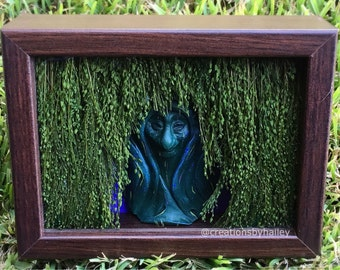 Grandmother Willow Shadow Box Diorama Inspired by Pocahontas (Optional: Light up)