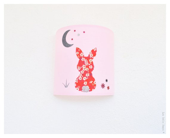 Personalized BUNNY DREAM Wall Sconce
