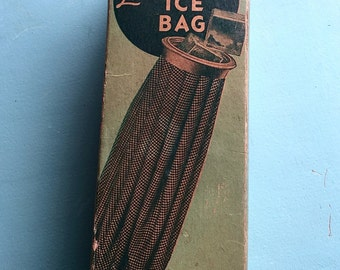 "Vintage ""Walker Leek-Pruf Ice Bag"" era 1940's"
