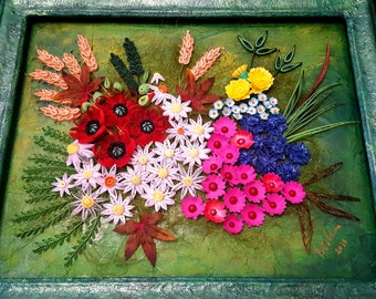 Quilling Wild Flowers picture