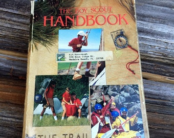 Vintage, BSA, Boy Scouts Of America, Book 1990, Handbook, The Trail To Eagle, Books, Music
