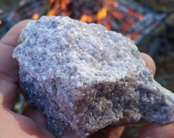 Lepidolite Mica on Smokey Quartz from ME