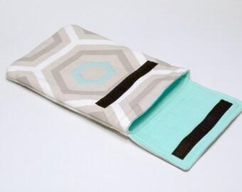 Padded Sleeve for iPad - iPad Case - Velcro iPad Sleeve