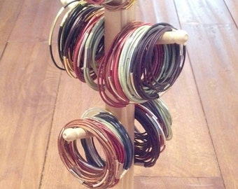 Wooden Bracelet Display - Simple Design and Function