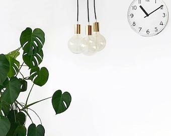 Gold Modern Chandelier Light Swag Cluster Lighting Globe Pendant Light Mid Century Golden Home Decor Industrial Hanging Light