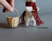 PDF pattern how to Needle felt a mouse