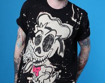 ADAMADAMADAM Mr Duck Zombie print T-shirt