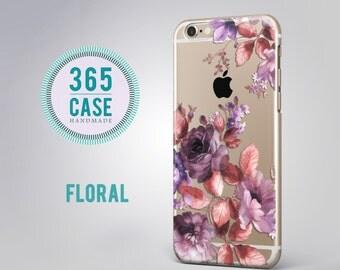 Samsung Galaxy s7 Case Clear Floral Samsung Galaxy s7 Edge Case Clear Flower Galaxy s7 Edge Case Clear Note 5 Case Soft Silicon Case  c00037