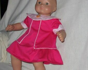 Rosebud - dress for Bitty Baby