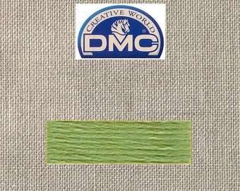 DMC Pearl 3 - Very Light Avocado Green - Color 471 - 15 Meters - By the Skein