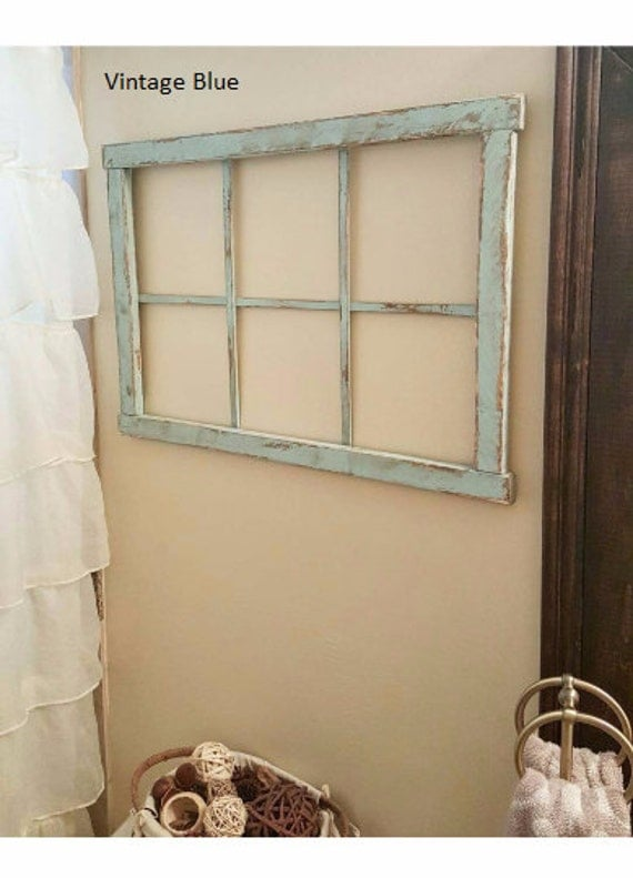 SALE!! Faux Window Frame - Wall Decor - Home Decor - Mantel Decor