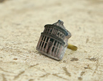 Ideal City Ring - Art jewelry - Renaissance jewelry - Architecture - 15th century - Architectural jewelry - Skyline - Statement ring