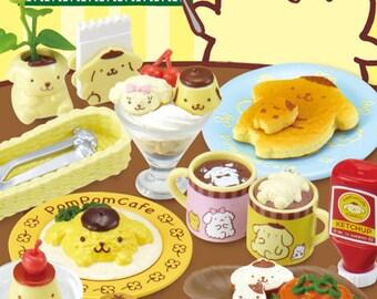 Re-ment POMPOM PURIN Cafe/Pom Pom Purin cafe rement/Rement Pom Pom Purin cafe/Cafe rement/re-ment Sanrio/Sanrio rement