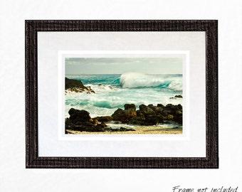 Ocean Print Wall Art Print Ocean Photography Coastal Wall Art Blank Greeting Cards Coastal Decor Beach Home Decor Wave Photography Seascape