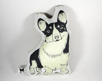 Corgi dog pillow - corgi stuffed animal - corgi plushie - corgi decor - corgi toy - pembroke corgi pillow - welsh corgi pillow - funny corgi