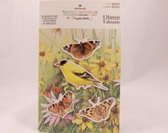 Hallmark Marjolein Bastin Magnet Set. 4 Animals 4 Magnets. 2 sealed Packages per purchase
