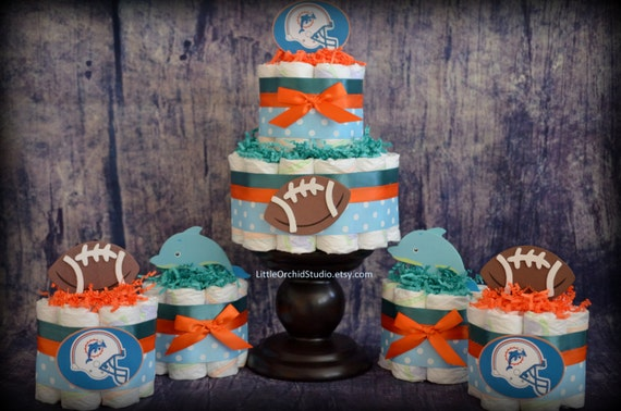 Items Similar To Miami Dolphins Sports Baby Shower