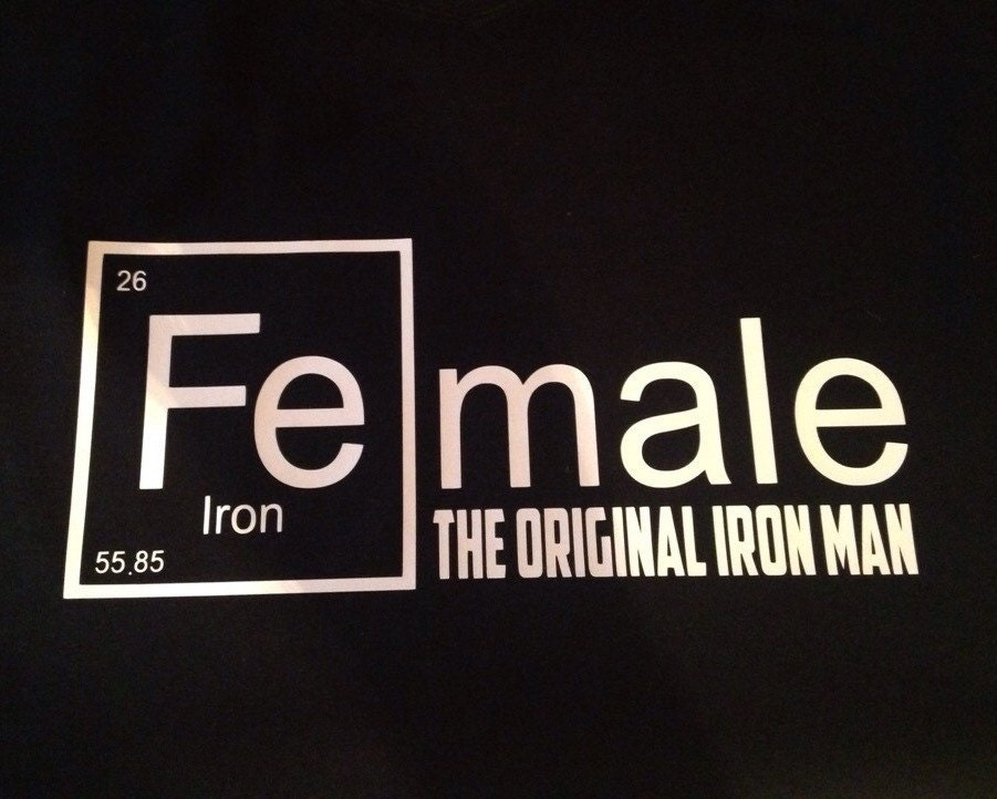 Female the original iron man periodic table - What is fe on the periodic table ...