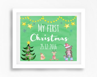 "Shop ""first christmas baby"" in Art & Collectibles"