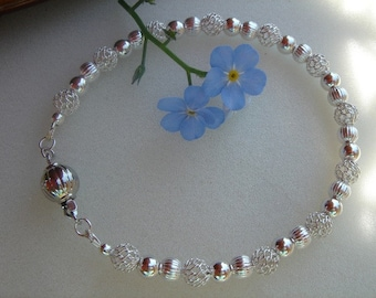 """925 silver bracelet, noble and """"In""""!"""