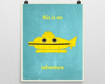 This is an Adventure print inspired by The Life Aquatic