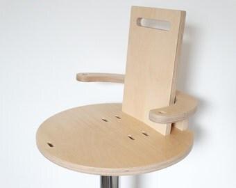 Wooden child bar stool
