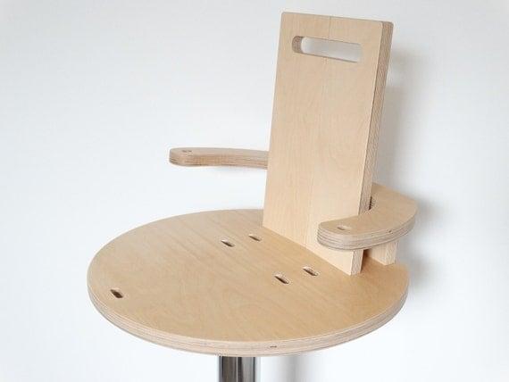 Tabouret enfant bois volutif - Chaise bar enfant ...