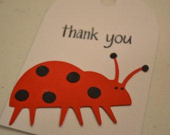 Ladybug Gift Tag/Bug Gift Tag/Baby Shower/Shower Gift Tag/Ladybug Thank You Tag/Gift Tag/Ladybug/Tag