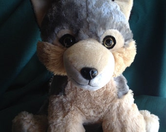 Kids and Baby, Baby and Toddler Toys, Plushies, Hot Cold Pack, Hot Pack, Wolf, Hot Cold Pack, Stuffed Animal, Toy, Dog, Rice Pack