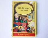 Vintage The Borrowers Book by Mary Norton Illustrated by Diana Stanley an Aldine Paperback Published J M Dent 1965 01157