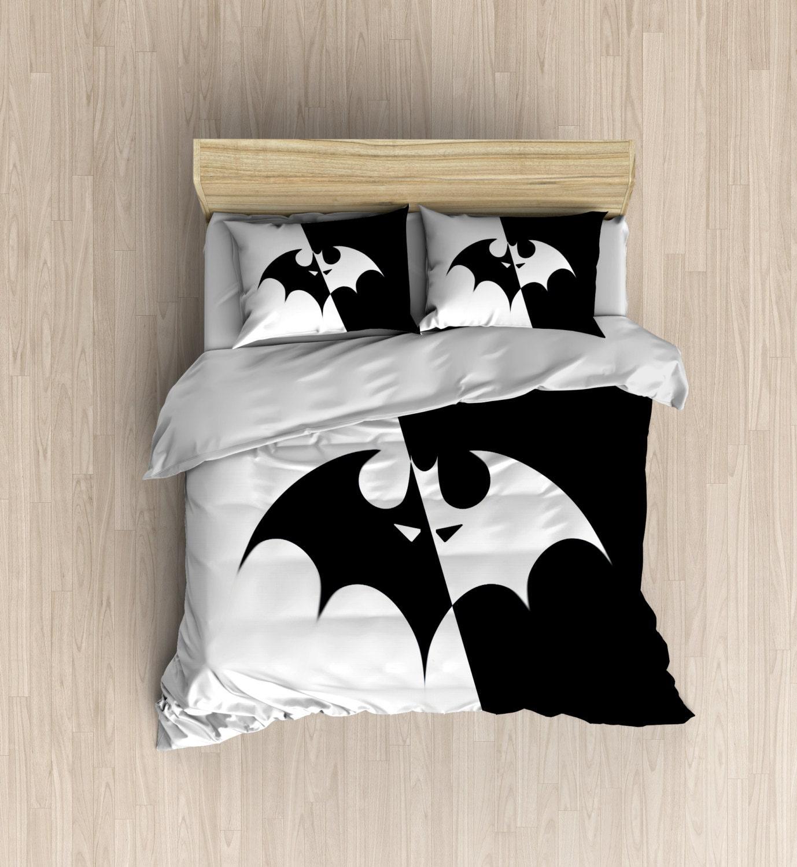 Batman Bedding Super Hero Bedding Set Batman Duvet by DesignyLand