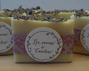 Lavander Soap, olive oil, all natural, handmade soap, homemade soap