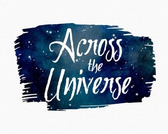Watercolor Galaxy Logo Design , Universe Logo , Nebula Logo , Starry Night , Watercolor Sky , Watercolor Universe , Watercolor Stars