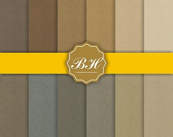 Kraft Digital Paper, Brown Paper, Cardboard Backgrounds, kraft digital backgrounds, Textured Paper,  Chipboard Backgrounds, Blogs, Cards