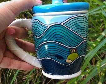 Ponyo Infusion Mug