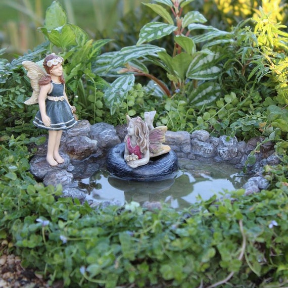 Swimming Hole Pond For Miniature Mini Fairy Or Zen Garden, Terrarium,  Dollhouse, Model Train Or Diorama Dish Garden Accessories From  IttyBittyLandscapes On ...