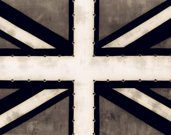 Union Jack Flag Giclee Print