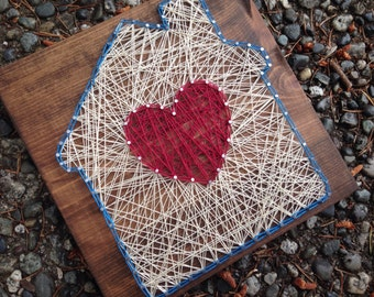 MADE TO ORDER - Home Sweet Home String Art
