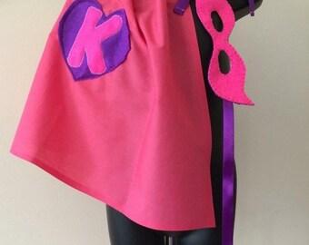 Super hero cape and mask set