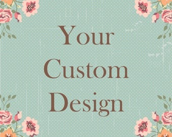 Custom Sign - Standard Fonts Only