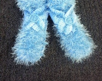 slippers / slippers / slippers blue / blue slippers / knit slippers