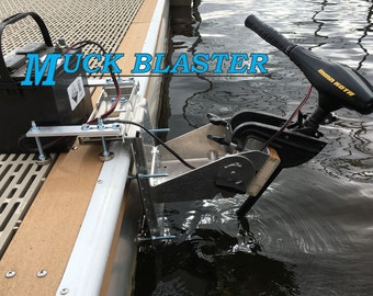 Muck Blaster Trolling Motor Mount Adjustable