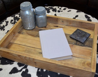 Pallet Serving & Ottoman Tray