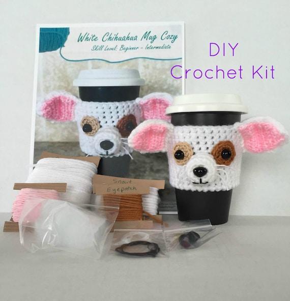 Amigurumi Animal Kit : Crochet Kit Amigurumi Kit DIY Craft Project by HookedbyAngel