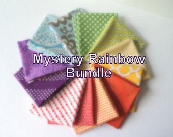 Mystery Rainbow Fabric Bundle