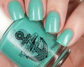 PREORDER ~ Manna's Marvelous Masterpiece ~ Limited Edition ~ Aqua Teal Holo Gold Flakies