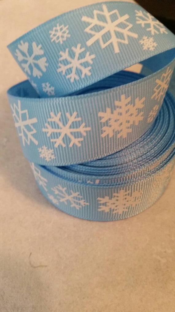 Basket Making Supplies North Carolina : Snowflakes ribbon grosgrain bow making