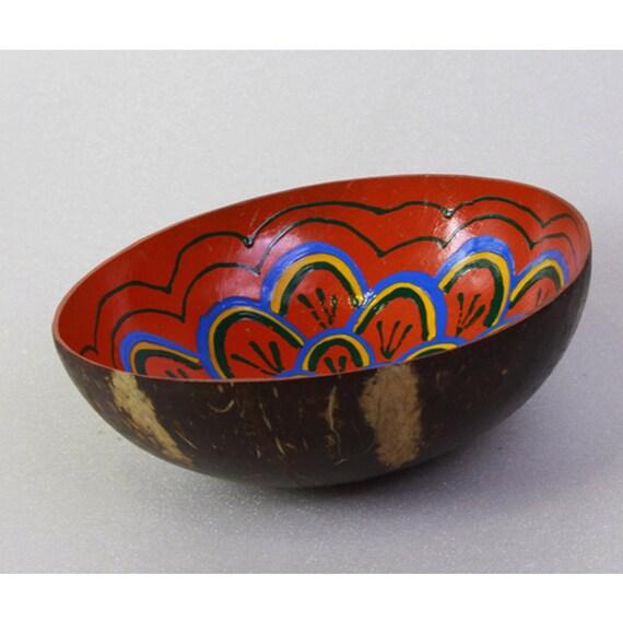 Classic Oriental Decorative Multipurpose Handmade Coconut Shell Handcraft Bowl (PC 26)