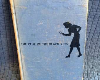 Nancy Drew The Clue of the Black Keys/First Edition Nancy Drew